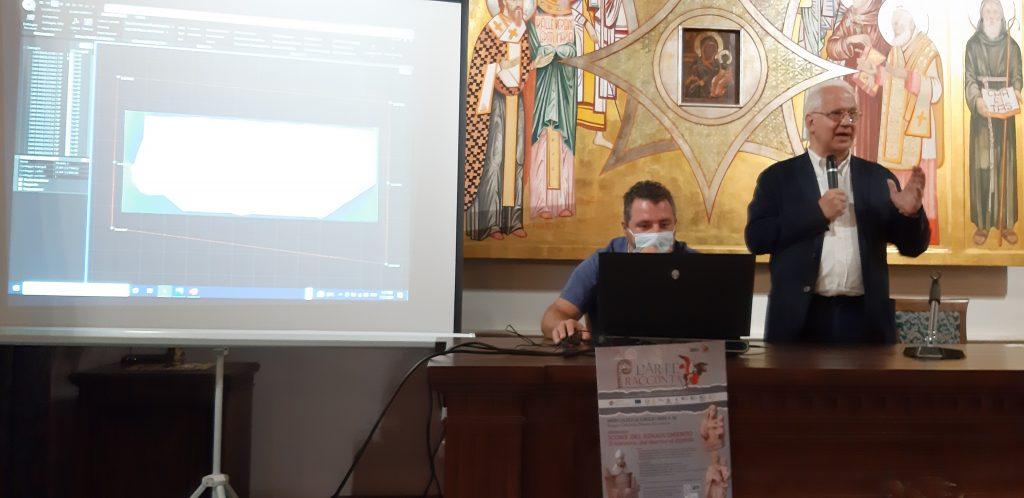 """Intervento nel corso del seminario """"Il restauro: dal marmo al digitale"""""""