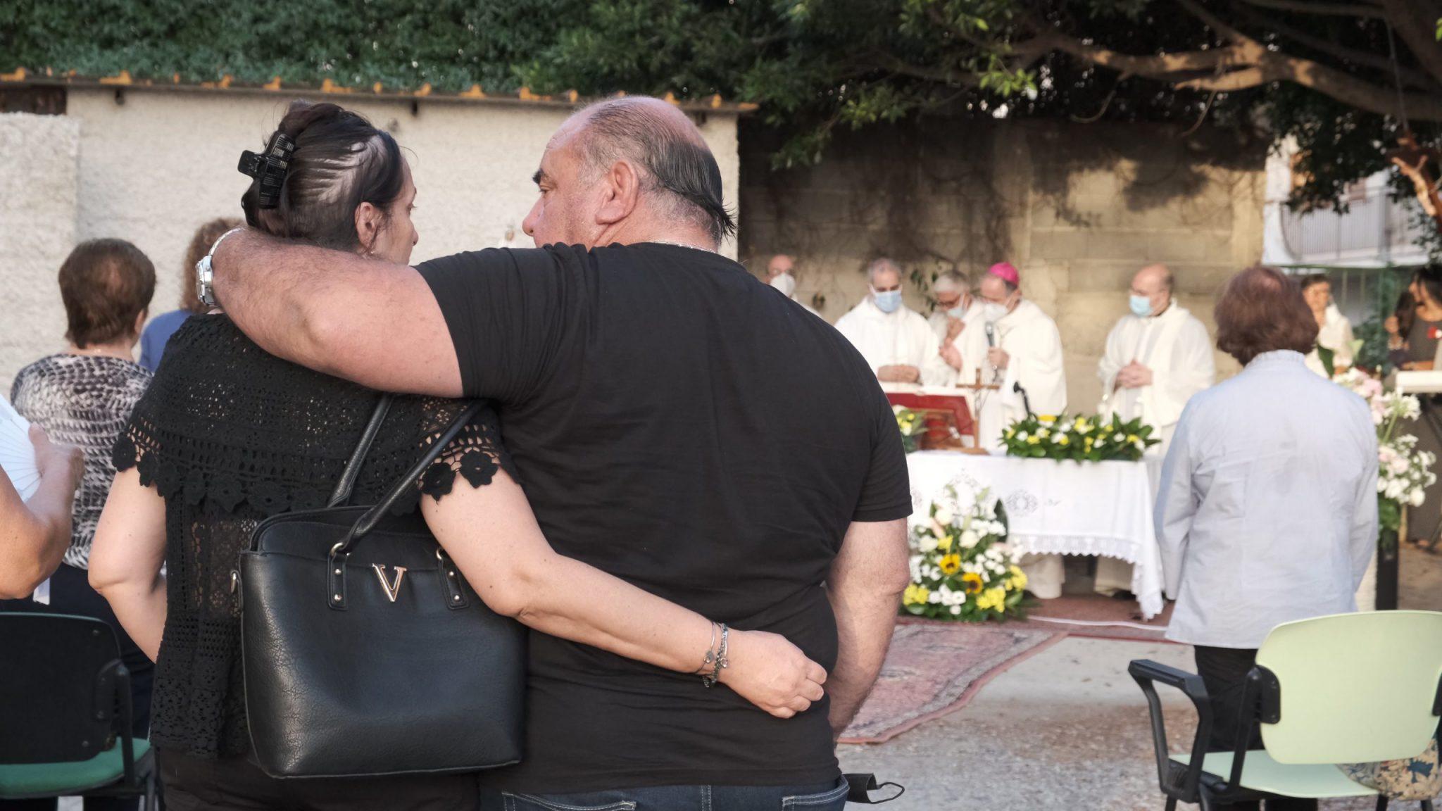 La visita di Morrone all'Hospice: «Basta attese»