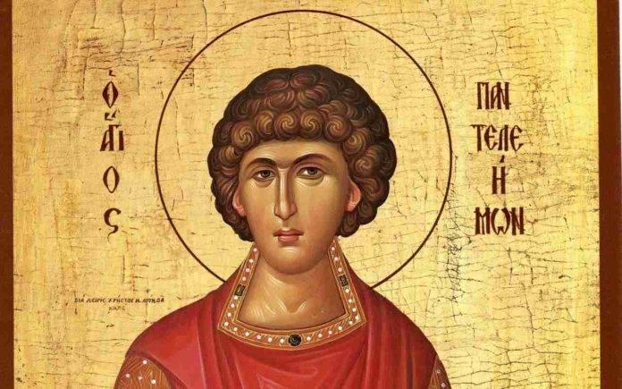 Il santo del giorno del 27 luglio è san Pantaleone