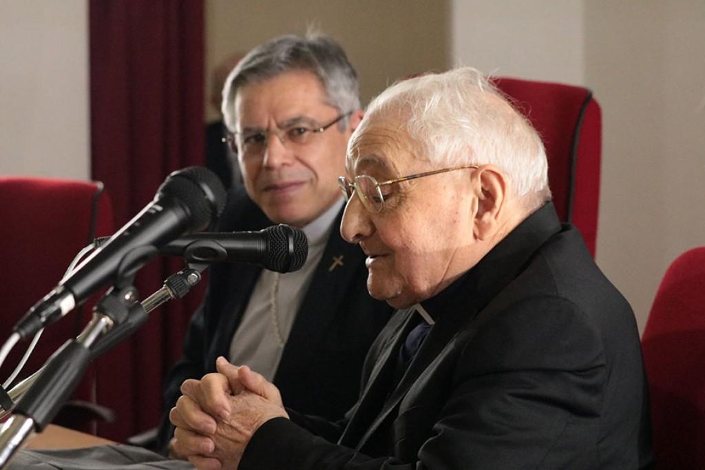 Monsignor Rimedio festeggia settant'anni di sacerdozio