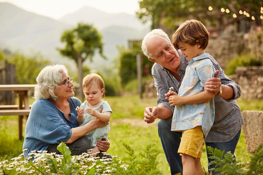 La prima giornata dei nonni e degli anziani
