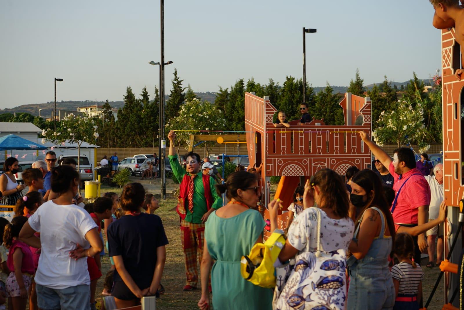 Un parco giochi inclusivo per i bambini di Catona