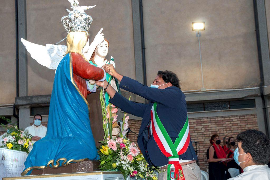 Brancaleone in festa per l'incoronazione di Maria Santissima Assuna