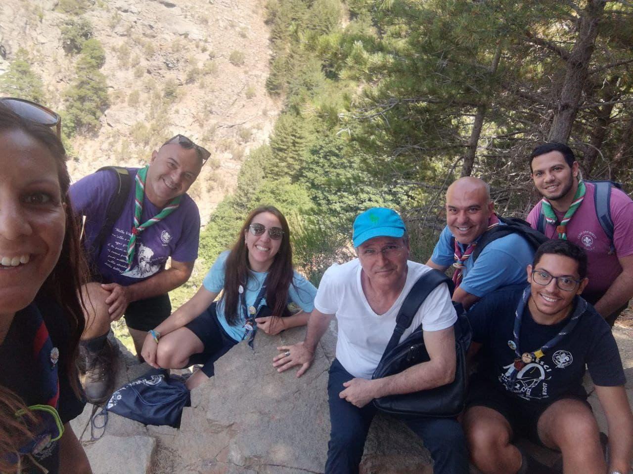 Il vescovo Morrone con gli scout: escursione in Aspromonte