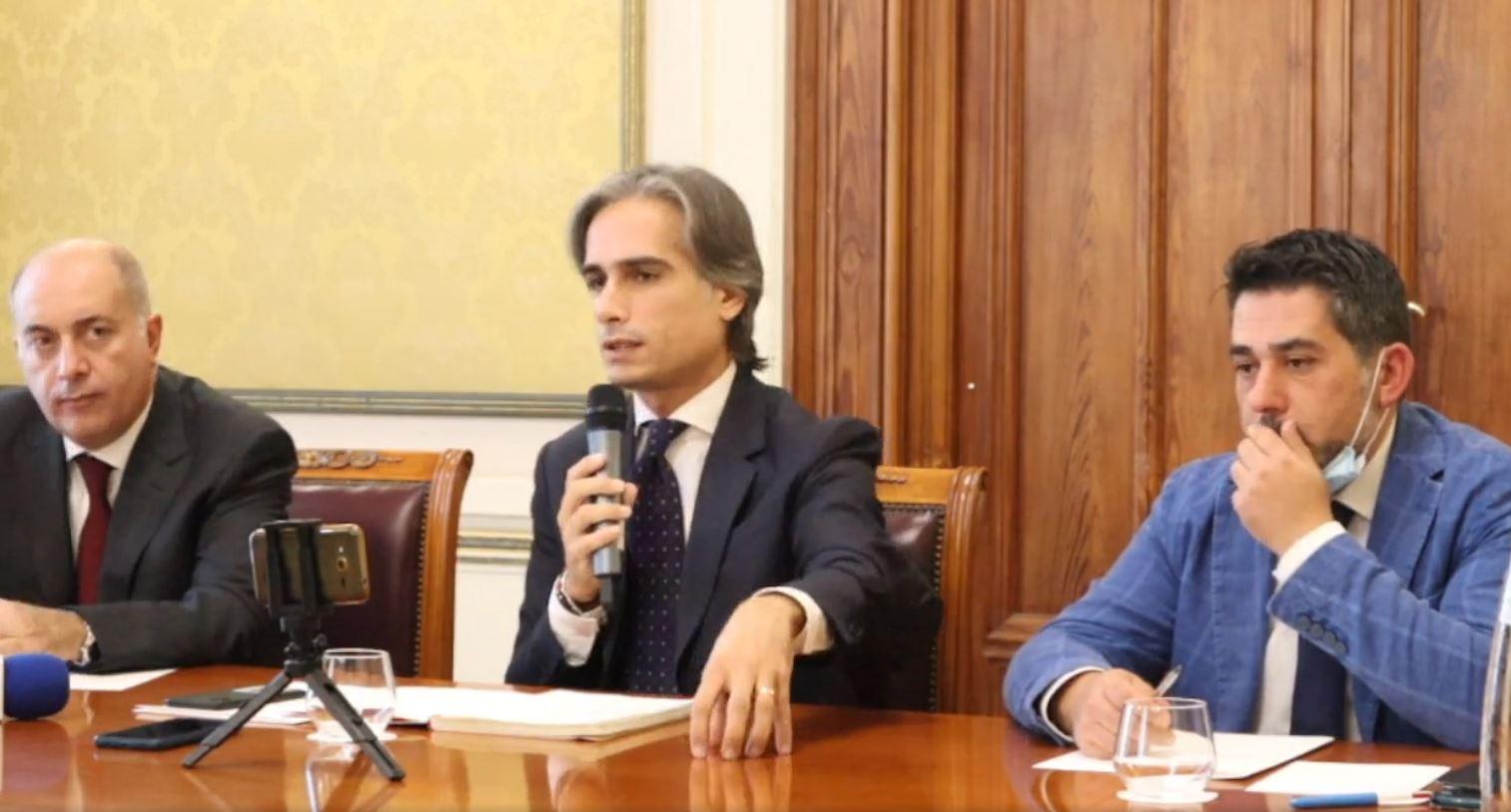 Rifiuti a Reggio conferenza stampa Falcomatà