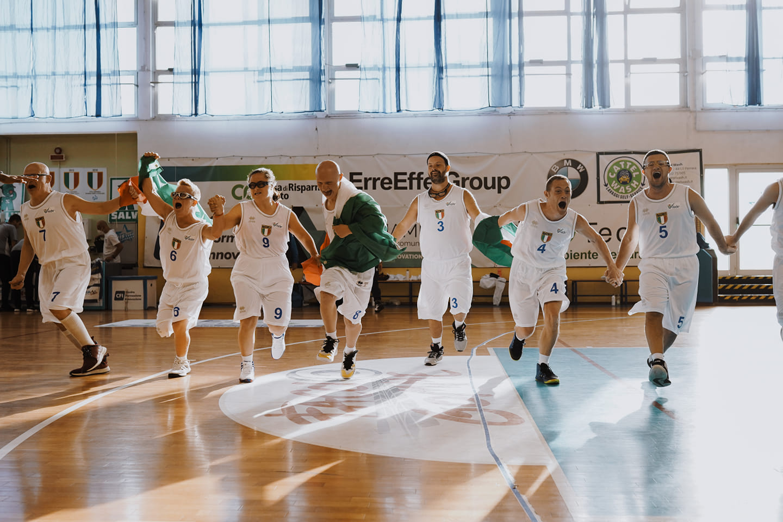Gli azzurri Down del basket