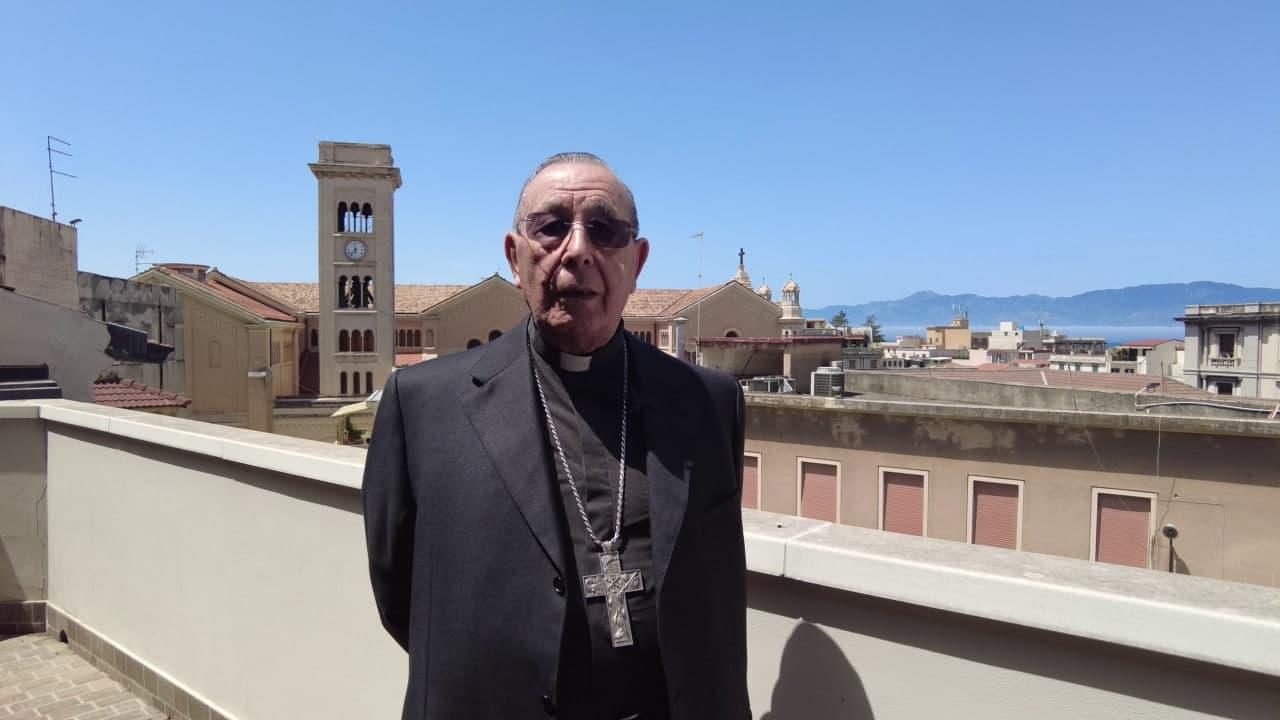 L'arcivescovo emerito Mondello festeggia 84 anni